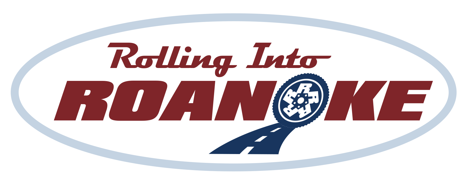 Rolling Into Roanoke logo